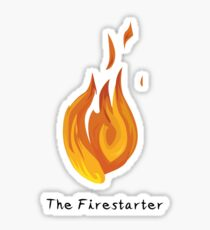 The Firestarter Sticker