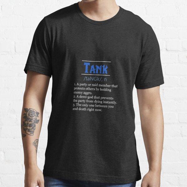 Definición de tanque Camiseta esencial