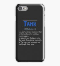 Definition of Tank iPhone Case/Skin