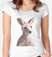 Little Kangaroo Fitted Scoop T-Shirt