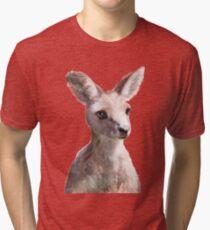 Little Kangaroo Tri-blend T-Shirt
