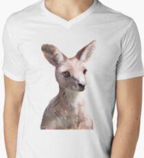 Little Kangaroo V-Neck T-Shirt