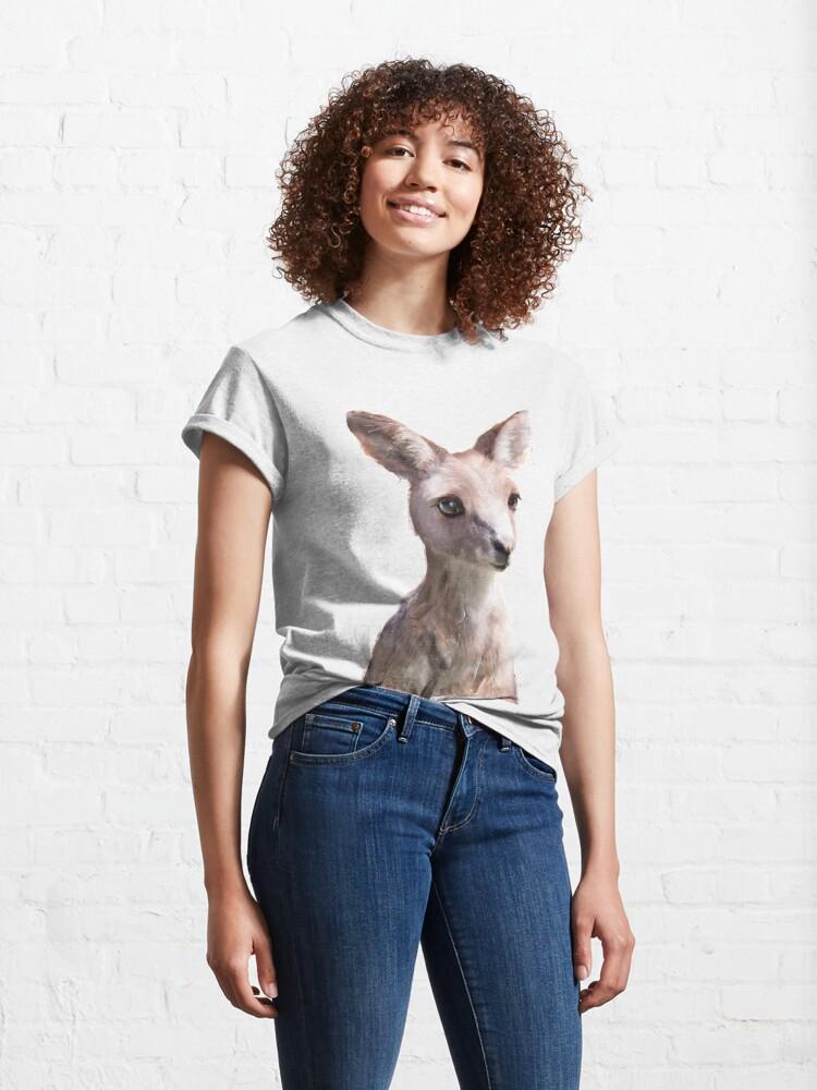 Alternate view of Little Kangaroo Classic T-Shirt