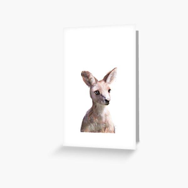 Little Kangaroo Greeting Card