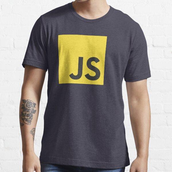 javascript js programming language logo Essential T-Shirt