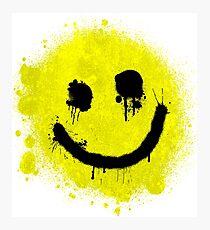 Smile - Graffiti Photographic Print