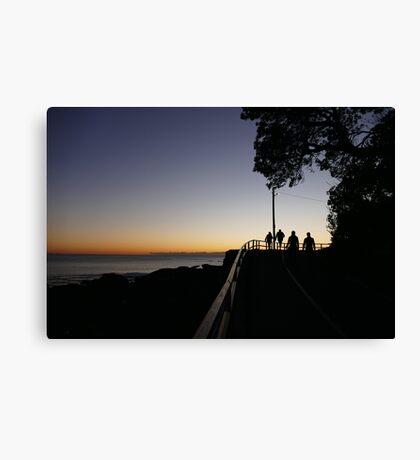 Towards Shelly Beach Canvas Print