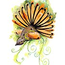 Fantail by Andrea England