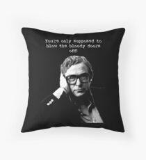 Michael Caine Throw Pillow