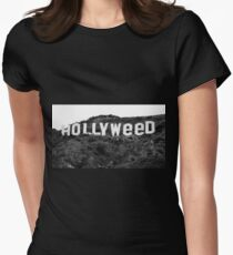 Hollyweed exclusive Womens Fitted T-Shirt