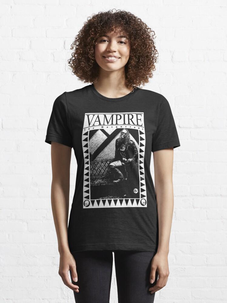 Alternate view of Retro: Vampire: The Masquerade Leg Up Essential T-Shirt