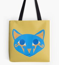 Blue Egyptian Cat Tote Bag