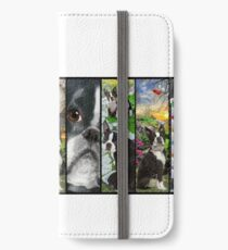 Never Enough Boston Terrier Dogs iPhone Wallet/Case/Skin