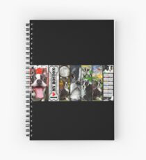 Never Enough Boston Terrier Dogs Spiral Notebook
