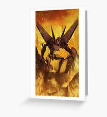 Starscream Prime Greeting Card