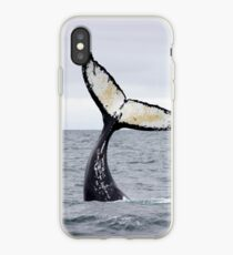 Waving Whale's Tail iPhone Case