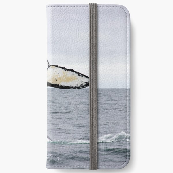 Waving Whale's Tail iPhone Wallet