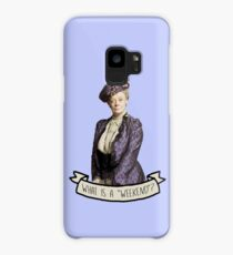 Lady Grantham Dowager Countess Violet Downton Abbey Case/Skin for Samsung Galaxy