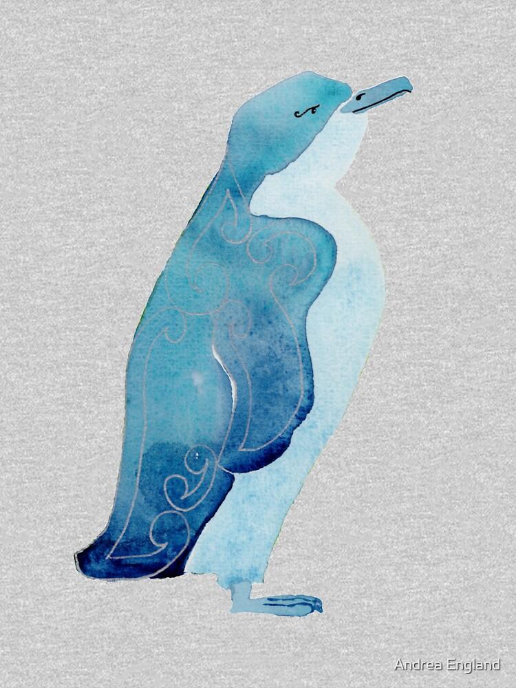 Little blue penguin by andreaengland