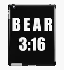 Bear 3:16 iPad Case/Skin