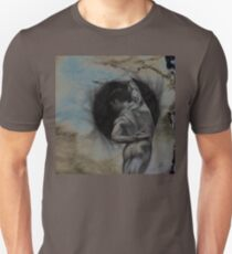 HARMONY - conté drawing with overlay Unisex T-Shirt