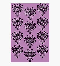 Haunted Mansion Wallpaper!  Photographic Print