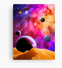 Space Solitude Canvas Print