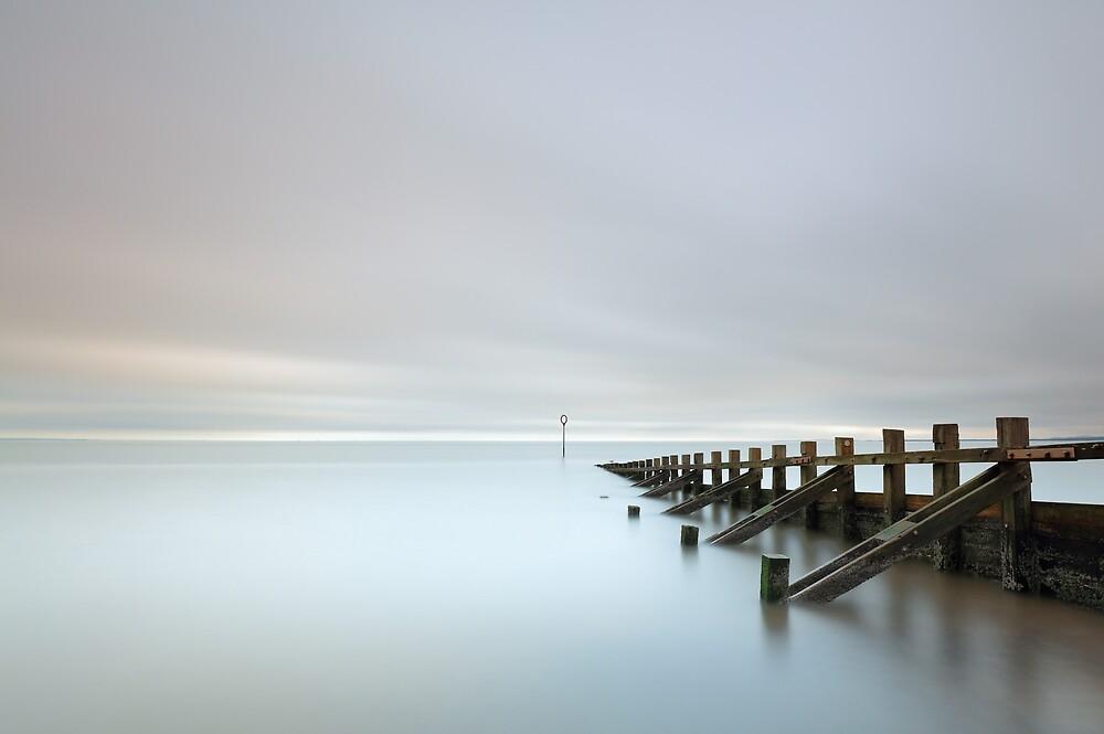 Portobello Sea Groynes by Grant Glendinning