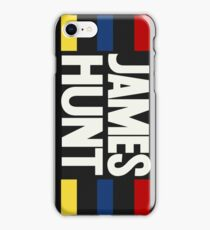 James Hunt Helmet - Ver1 iPhone Case/Skin