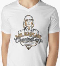 Mr. Kaplan - Cleaning Cooperation Men's V-Neck T-Shirt
