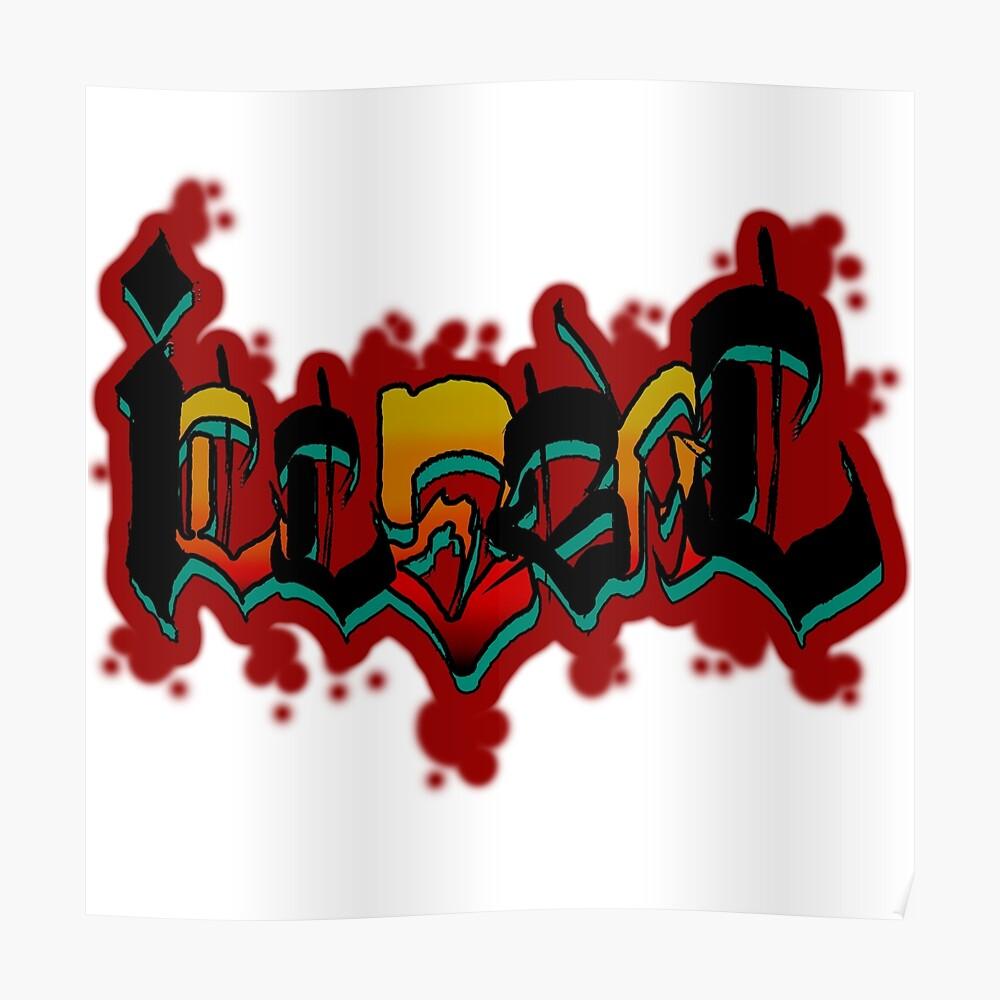 illegaler Graff Poster