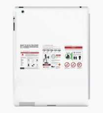 Survival Guide iPad Case/Skin