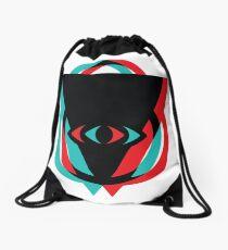 Eye 3D See You Drawstring Bag