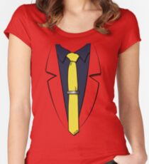 Lupin III's suit Women's Fitted Scoop T-Shirt