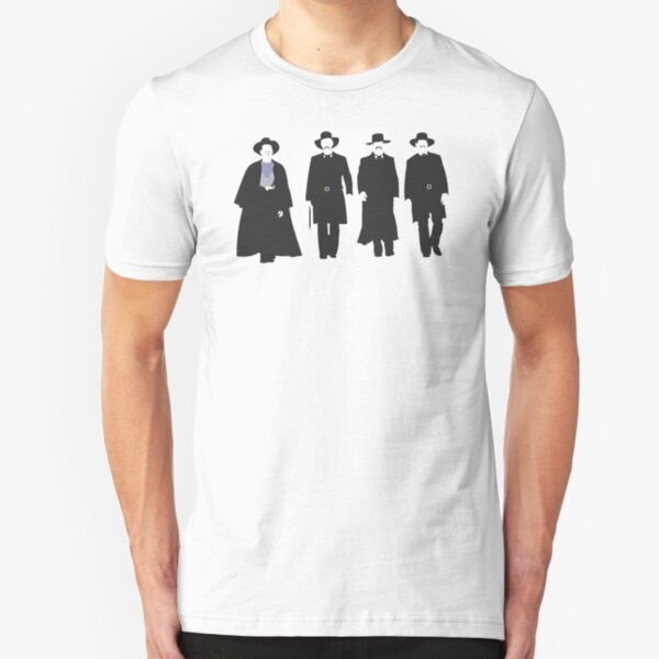 Tombstone: Justice is Coming Slim Fit T-Shirt