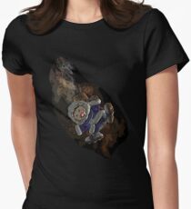 Ice climber pain Womens Fitted T-Shirt