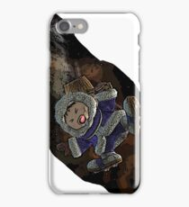 Ice climber pain iPhone Case/Skin