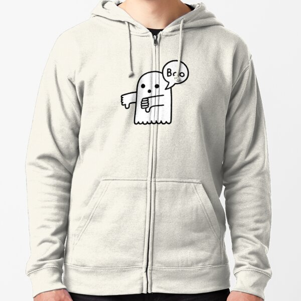 The Ghost of Disapproval Zipped Hoodie