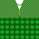 Shamrocks and Irish Plaid by Greenbaby