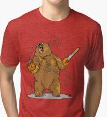 Honey Bear Massacre Tri-blend T-Shirt