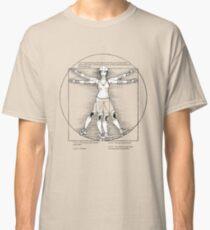 Vitruvian Skater in duotone Classic T-Shirt