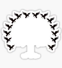 House Blackwood Tee Sticker