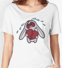 Broken Hearted Bunny Women's Relaxed Fit T-Shirt