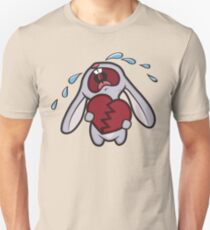 Broken Hearted Bunny Unisex T-Shirt