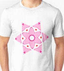 Simple pink flower T-Shirt