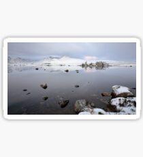 Winter Sunrise Glencoe Sticker