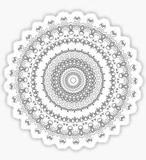 Color me Mandalas Sticker