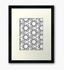Silly pattern Framed Print