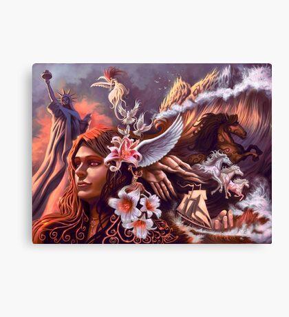 Libertas Canvas Print