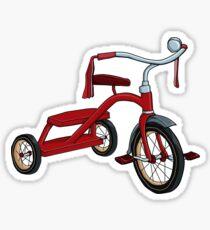 vintage tricycle Sticker